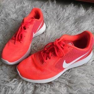 NIKE Revolution 3 Running Sneakers Orange/Fuchsia